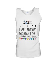 Hello 30 Happy  Unisex Tank thumbnail