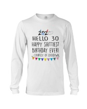 Hello 30 Happy  Long Sleeve Tee thumbnail