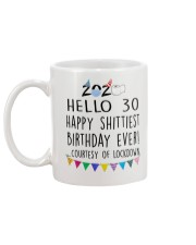 Hello 30 Happy  Mug back