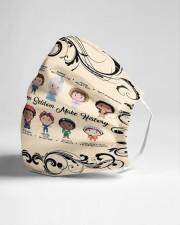 Frida Kahlo women seldom Cloth face mask aos-face-mask-lifestyle-21