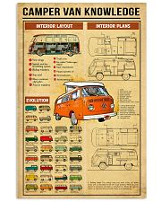 VW 1973 Camper Knowledge 11x17 Poster front