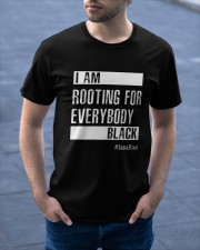 I Am Rooting For Everybody Black Classic T-Shirt apparel-classic-tshirt-lifestyle-front-46