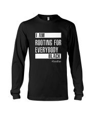 I Am Rooting For Everybody Black Long Sleeve Tee thumbnail