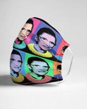 RBG pop art 2 Cloth face mask aos-face-mask-lifestyle-21