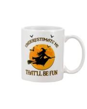 Witch underestimate me phone case Mug thumbnail