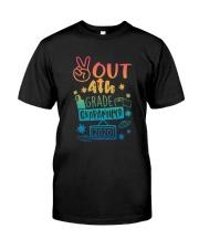 4th grade Peace Out Classic T-Shirt thumbnail