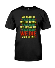 Black People Shirt Classic T-Shirt front