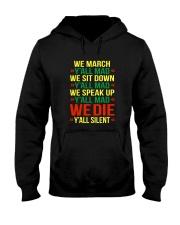 Black People Shirt Hooded Sweatshirt thumbnail