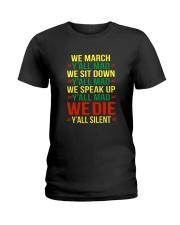 Black People Shirt Ladies T-Shirt thumbnail