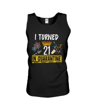 21 I turned in quarantine Unisex Tank thumbnail