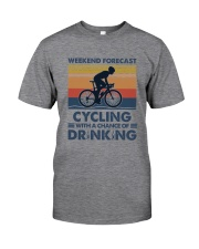Cycling Forecast Classic T-Shirt tile