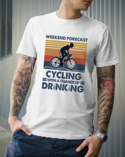 Cycling Forecast Classic T-Shirt lifestyle-mens-crewneck-front-6