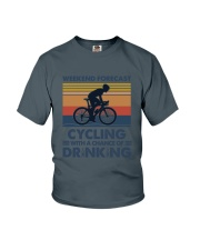 Cycling Forecast Youth T-Shirt tile