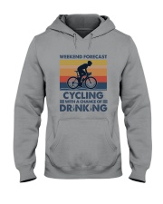 Cycling Forecast Hooded Sweatshirt tile