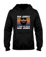 Dad jokes rad jokes Hooded Sweatshirt thumbnail