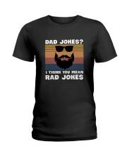Dad jokes rad jokes Ladies T-Shirt thumbnail