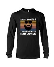 Dad jokes rad jokes Long Sleeve Tee thumbnail