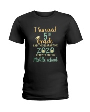 5th grade Ready to take on Ladies T-Shirt thumbnail