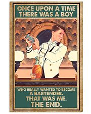 A boy wanted to become bartender 11x17 Poster front