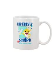 7 Blue Birthday Shark-1 Mug thumbnail