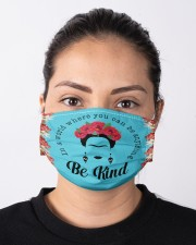 Frida Kahlo be kind Cloth face mask aos-face-mask-lifestyle-01