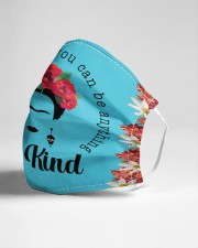 Frida Kahlo be kind Cloth face mask aos-face-mask-lifestyle-21