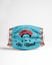 Frida Kahlo be kind Cloth face mask aos-face-mask-lifestyle-22