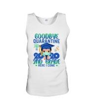 White Boy 2nd grade Goodbye quarantine Unisex Tank thumbnail