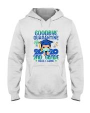 White Boy 2nd grade Goodbye quarantine Hooded Sweatshirt thumbnail