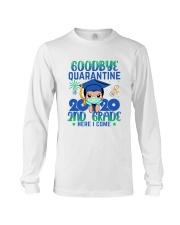 White Boy 2nd grade Goodbye quarantine Long Sleeve Tee thumbnail