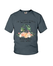 Baseball Simple Woman Youth T-Shirt thumbnail