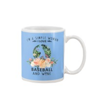 Baseball Simple Woman Mug thumbnail