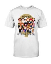 RBG smash itself Classic T-Shirt thumbnail