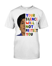 Audre Lorde your silence Classic T-Shirt thumbnail