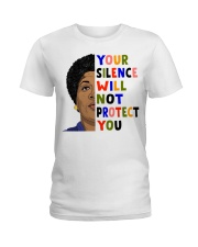 Audre Lorde your silence Ladies T-Shirt thumbnail