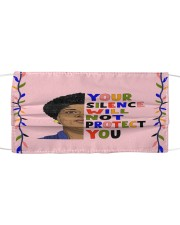Audre Lorde your silence Cloth face mask front