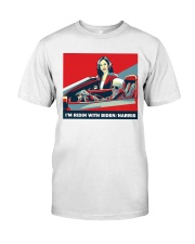 Riding with sticker Classic T-Shirt thumbnail