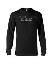 Human kind be both Long Sleeve Tee thumbnail