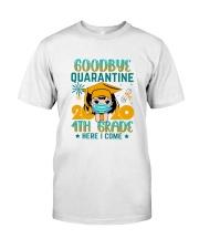 White Girl 4th grade Goodbye quarantine Classic T-Shirt thumbnail
