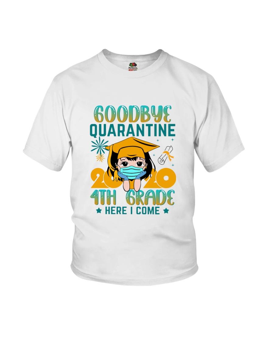 White Girl 4th grade Goodbye quarantine Youth T-Shirt