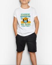 White Girl 4th grade Goodbye quarantine Youth T-Shirt lifestyle-youth-tshirt-front-1