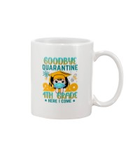 White Girl 4th grade Goodbye quarantine Mug thumbnail