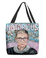 Notorious RBG puzzle All-over Tote thumbnail