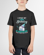 9th Spent birthday Youth T-Shirt garment-youth-tshirt-front-01