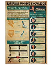 Barefoot Running Knowledge 11x17 Poster front