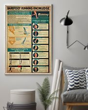Barefoot Running Knowledge 11x17 Poster lifestyle-poster-1