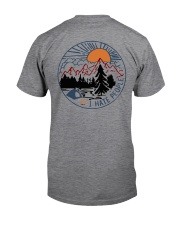 Camping Raccoon Eff you see kay Classic T-Shirt back