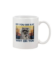 Camping Raccoon Eff you see kay Mug thumbnail