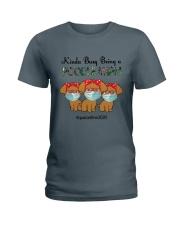 Poodle Kinda Busy Being a Corgi Mom Ladies T-Shirt tile