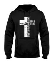 Dog Sledding Jesus All I Need Today Hooded Sweatshirt thumbnail